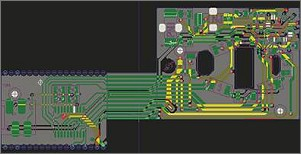 PCB development flex / rigid